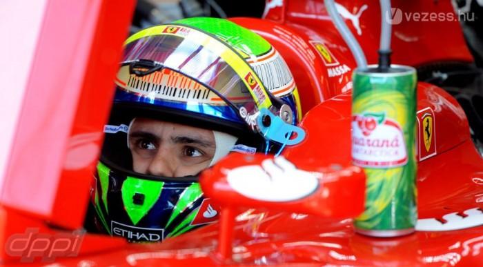 Massa is a Q3-ban járt rosszul