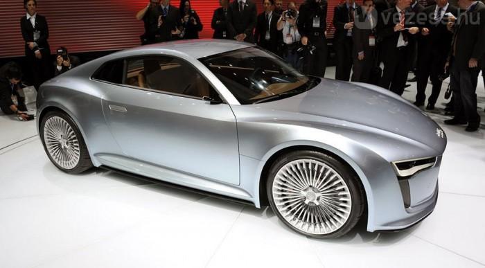 Az Audinál egy sportkocsi lehet az első villanyautó