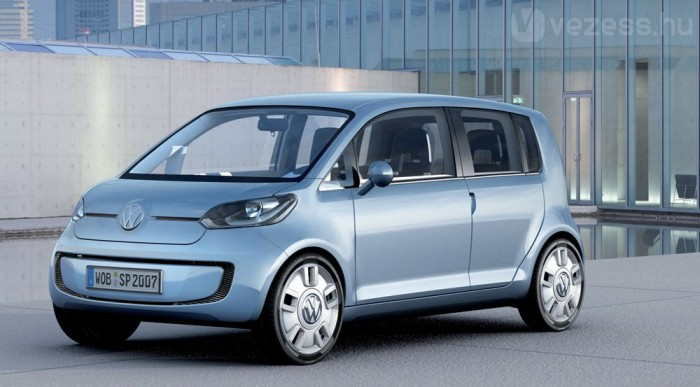 A Volkswagen az up!-ból készíti első villanyautóját