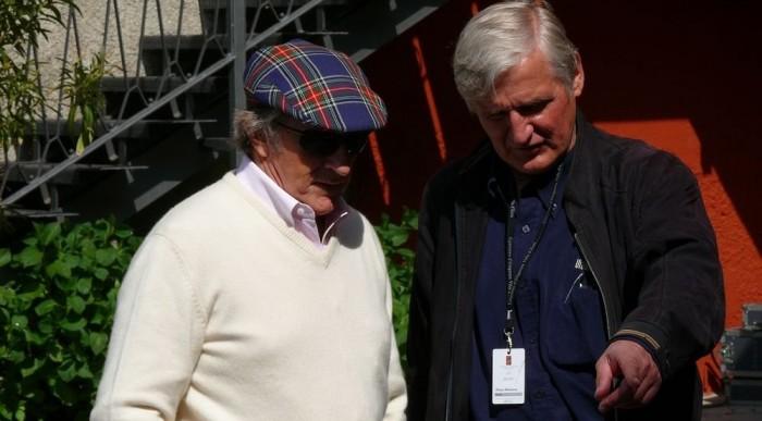Itt járt a 71 éves Sir Jackie Stewart, háromszoros F1 világbajnok