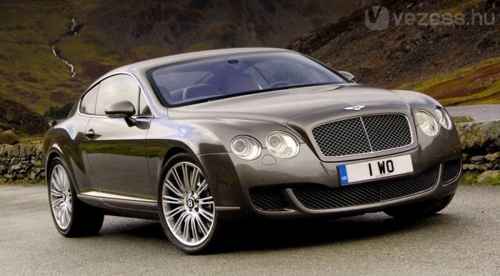 Egy Bentleyben tesztelik a rendszert