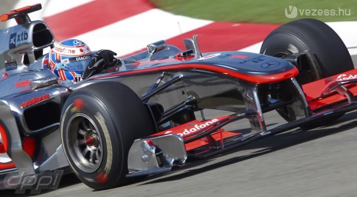 A McLarené az első nap