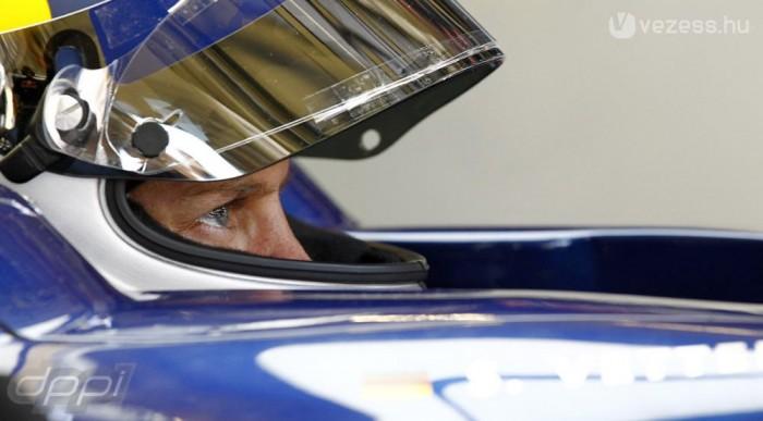 A kvalifikáció előtt e Red Bull a leggyorsabb
