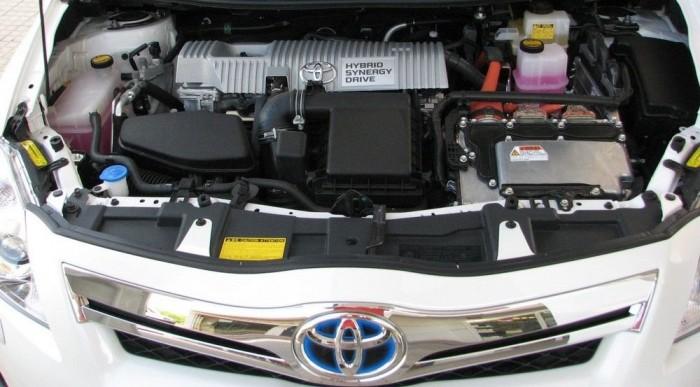 A Prius bélése Aurisba csomagolva