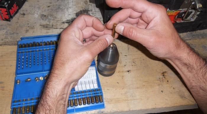 A fúvóka méretezése kézzel történik