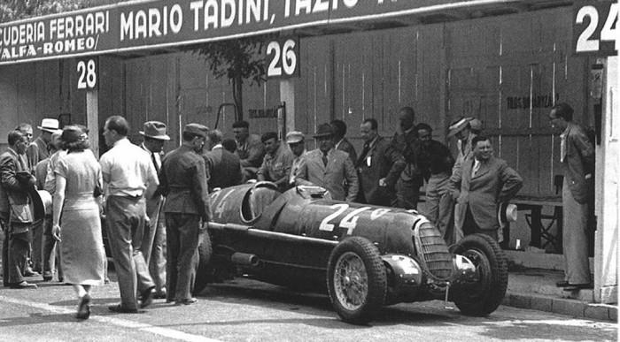 A Scuderia Ferrari, már akkor is a legjobbnak számított.