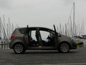 Opel Meriva: családi teszt öngyilkos ajtókkal