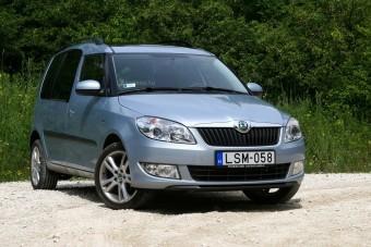 Teszt: Škoda Roomster 1,2 TSI