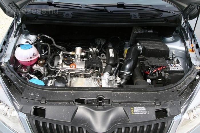 A gyengébb 1,2-es motor sem rossz