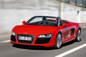 430 lovas új Audi sportkocsi