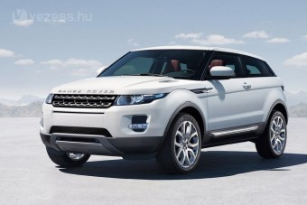 Kis modell a Range Rovertől