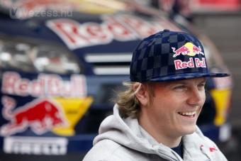 Räikkönen bukott, de élvezte