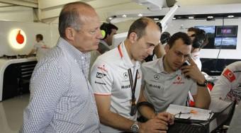 Rossz tréfa a McLaren-vezértől