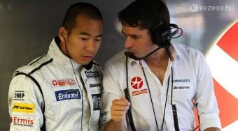 F1: Tovább kispadozik az indiai újonc