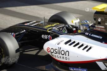 Engedély nélkül is készül az új F1-es