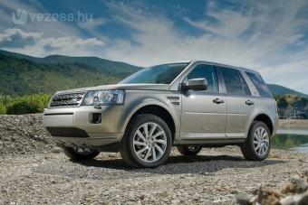 Takarékos Land Rover született