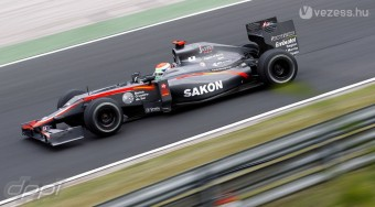 F1: Belgiumban is a fizetős pilóta vezet
