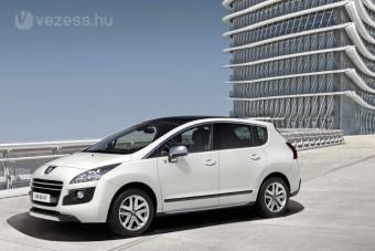 A világ első dízel-hibridje a Peugeot-tól