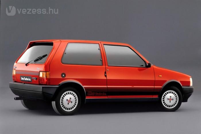 100 lóerővel kezdte az 1,3 literes Uno Turbo i.e.