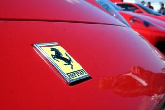 Ferrari-házibuli a Hungaroringen