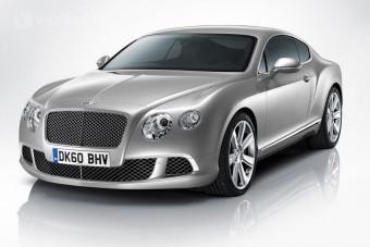 Új formában a Bentley kupé