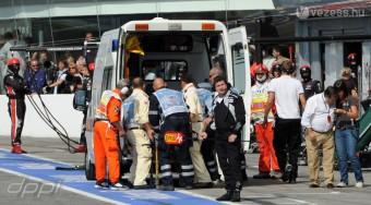 F1: Videón a bokszutcai gázolás