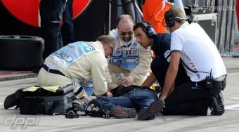 F1: Megúszta az elgázolt szerelő