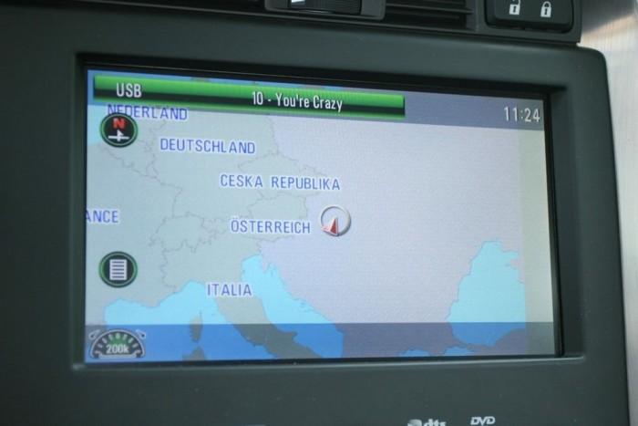 A feláras navigáció szerint a semmi közepén vagyunk