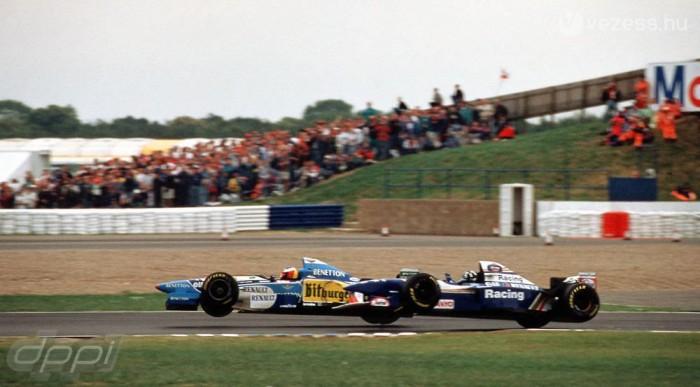 Schumacherrel komoly csatákat vívott