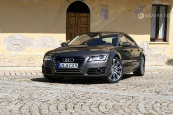 Vezettük: Audi A7