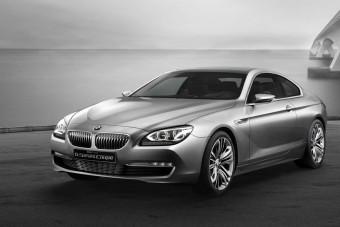 Itt az új BMW 6-os kupé