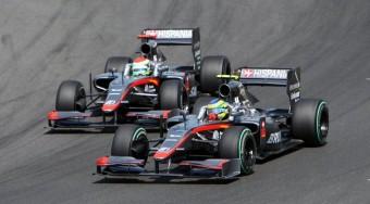 F1: Nem omlik össze a sereghajtó