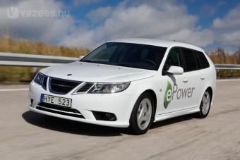 A Saab első villanyautója
