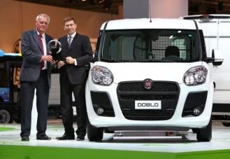A Fiat Dobló az év haszonjárműve