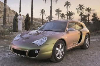 Cajun néven jöhet új Porsche terepjáró