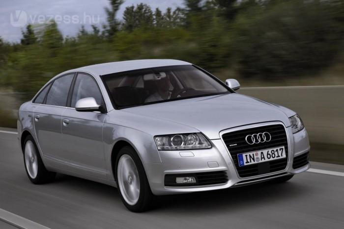 Audi A6 2,0 TDI/2,0 TDIe DPF Listaár 2005. 10: 10 055 000 Ft, listaár 2010.09: 10 971 000 Ft. Legalacsonyabb: 9 900 000 Ft, 2007. 08-2008. 01-ig, legmagasabb: 10 972 000 Ft, 2009. 09.- 2010. 04.