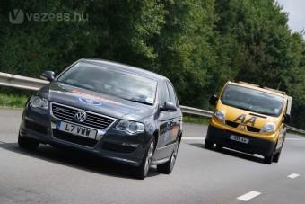 VW Passat háromliteres fogyasztással