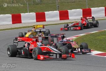 F1: A Virginnél unják az előzékenységet