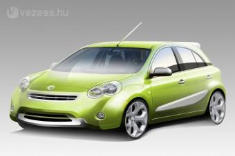 A Nissantól érkezik az új smart