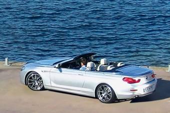 Itt az új BMW 6-os Cabriolet