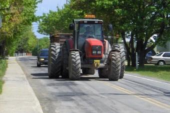 Veszélyes sár az utakon