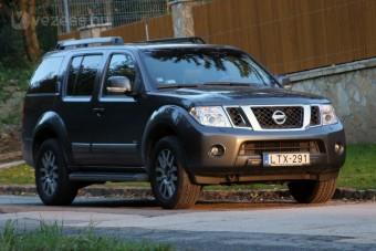 Nissan Pathfinder: Romboló túlerőben