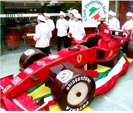 A legédesebb Ferrari, belga csokiból.