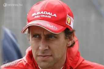 F1: Lelép a Ferrari veterán tesztpilótája