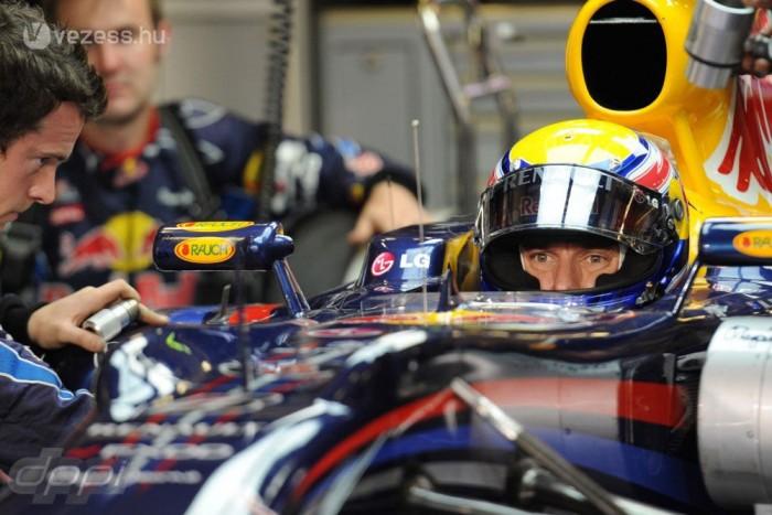 Webber azt állítja, sérülése nem befolyásolta a versenyek kimenetelét