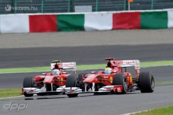 F1: Engedélyezik a csapatutasítást