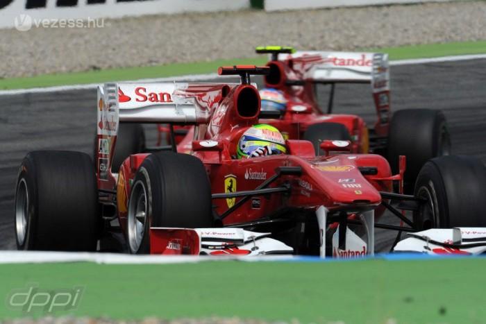 A 2010-es Német Nagydíjon végrehajtott helycsere 100 000 dollárjába került a Ferrarinak