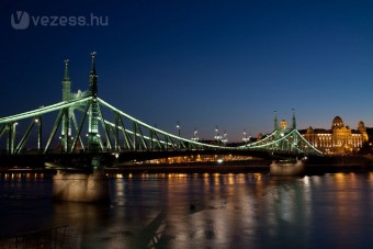 Takarékossági díjat nyert a Szabadság híd