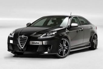 Giulia, az Alfa új szedánja