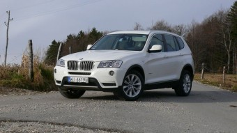 Lányteszt: BMW X3 Xdrive20d